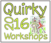 Details of all new Quirky Workshops for 2016 at Greystoke Cycle Cafe