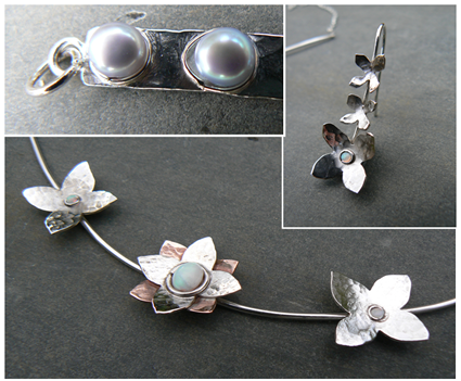Silver Jewellery Weekend Workshop with Melinda Scarborough at Greystoke Cycle Cafe