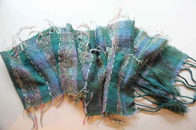 Sumptuous Scarf Weaving Workshop with Jan Beadle