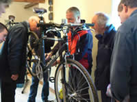 Hands On strip and Build Bike Day with Steve Wood MIA at Greystoke Cycle Cafe-   max 6 people