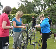 Beginners Bike Maintenance and Set up Short Course with Steve Woods MIA at Greystoke Cycle Cafe