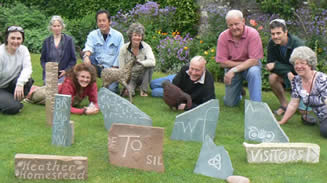Stone Carving Workshop with Pip Hall at Greystoke Cycle Cafe