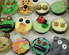 Novely Cupcakes - popular with adults and children alike