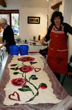 A Felt Art making workshop with Debra Esterhuizen
