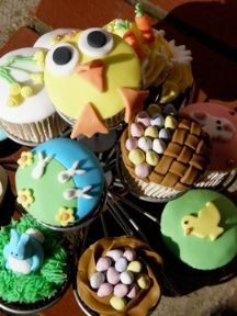 Easter Cupcakes Friday 22 March