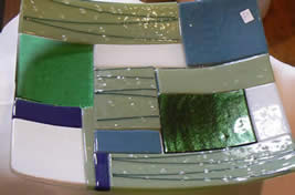Fused Glass Workshop at Greystoke Cycle Cafe