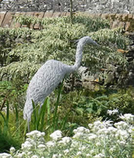 Herons from wire with Susan Nichols in Greystoke
